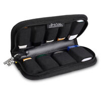 9 x USB Flash Drives Carrying Case with Premium Quality Padded Protection - Blk