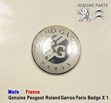 Peugeot 508 607 807 Boxer Partner RCZ Roland Garros Paris Badge emblem Logo New