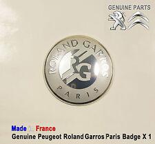 Peugeot 508 607 807 boxer partner rcz roland garros paris badge emblème logo nouveau