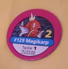 #129 MAGIKARP PINK CHIP Pokemon master trainer Part Piece Board Game Original