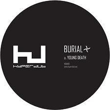 """Burial - Young Death / Nightmarket (12"""" Vinyl) 2016 Hyperdub / HDB100"""