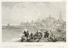 ESPAGNE-décrite avec célèbres-Catedral-Meyer 's UNIVERS-Acier Pli 1837