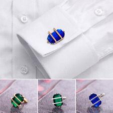 Business Men Crystal Dress Wedding Formal Party Gift Shirt Cuff Links Cufflinks