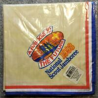 1993 National Jamboree - Neckerchief - A Bridge to the Future - Boy Scout/BSA
