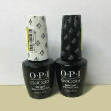 OPI Gel Color Top and Base Coat - 2 bottles x 15ml Fast Free Delivery SUPER SALE