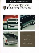 Huge 1994/1995 Dodge <Dealer Only>TRUCK ACCESSORIES / Options Brochure / Catalog