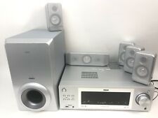 RCA RT2760 5.1 Channel Home Theatre System w/ 5 Speakers Subwoofer No Remote