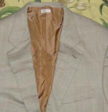 Mens BRIONI Gray Pink Nomentano Wool Herringbone Windowpane Blazer Jacket 48 R