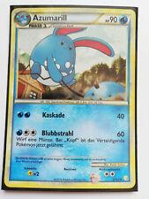 Pokémon HGSS Azumarill 2/123 Holo Deutsch Rare Near Mint