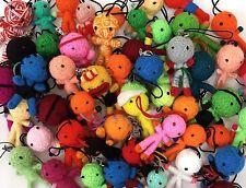 Wholesale 50 PCS Bulk Voodoo String Dolls Yarn Hand-Craft Key Chain Key Ring LOT