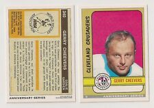92-93 OPC 5/26 GERRY CHEEVERS CLEVELAND CRUSADERS BOSTON BRUINS O-PEE-CHEE