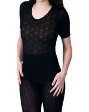Camiseta interior de mujer de color principal negro encaje