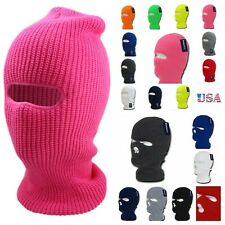 Men Snow Board Ski Mask Beanie Cap Hat Hunting Workout Winter Sports Unisex Hat