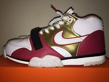 e0b3047890d2 Nike Air Trainer 1 Mid Premium QS Jerry Rice 607081-101 Size 12 LIMITED  Brick