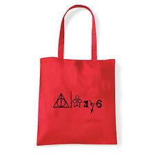 Art T-shirt, Borsa  Always Harry Potter, Rossa, Shopper, Mare