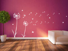 Dandelion Floral Decal Wall Stickers Decor Flowers New Art Removable Room A359