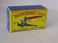 Repro box Matchbox 1:75 nº 48 trailer/sportboat
