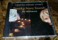 MARTHA STEWART LIVING SPOOKY SCARY SOUNDS FOR HALLOWEEN CD BRAND NEW SEALED RARE