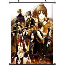 Anime Hakuouki Shinsengumi Kitan wall Poster Scroll Cosplay 3188