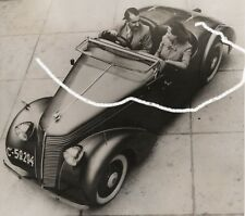 15x15 Original Foto 1938 Jawa Minor Roadster Tschechien Prag photo