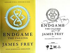 James Frey SIGNED & DATED Endgame: The Calling 1st/1st HC + Photos!