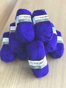 Yarn Art Baby Cadbury Purple DK Hand Knitting Yarn - 500g