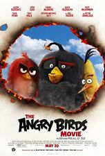 """The Angry Birds movie poster  - 11"""" x 17"""" inches  (2016)"""