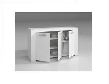 Credenza mobile buffet modello Ambit con tre ante 144x42x80h cm 94618