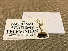Emmy Awards Card, Envelope & Seal Sticker