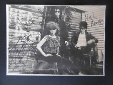 "The Cramps ""Lux Interior"" signed 4x6 inch white card magazine-picture autographs"