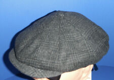 STETSON WOOL NEWSBOY Cap Hat New CHARCOAL GREY MEDIUM