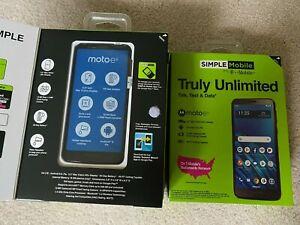Motorola Moto E6 - 16 GB - Black(Simple Mobile) Smartphone Lot of 12