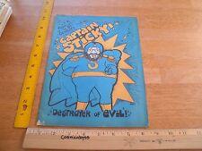 Captain Stick Destroyer of Evil J Holmes 1970's VINTAGE underground comic SCARCE