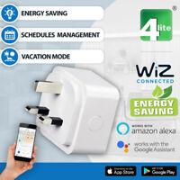 Wiz WIFI Smart Plug UK Alexa Google Assistant and IFTTT APP Control Timer - New
