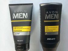 Avon MEN 3-in-1 SHAMOO,CONDITIONER & BODY WASH 250ml 2-in -1 SHAVE & WASH 150 ml