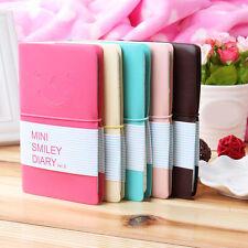 "New ""Mini Smiley"" Cute Mini Diary Pocket Notebook Tiny Journal Memo Note Gift x#"