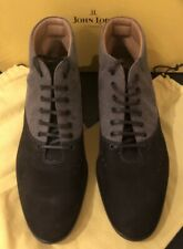 JOHN LOBB SHOES 6cm Invisible Heel BROWN SUEDE UK 6  Rare
