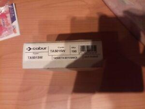 Cabur TA5015W Targhette per portatarghette - Targhette - Dimensioni: 50 x 15mm