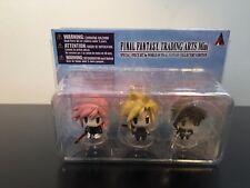 World of Final Fantasy Trading Arts Mini Figures Lightning Cloud Squall 3pc Set