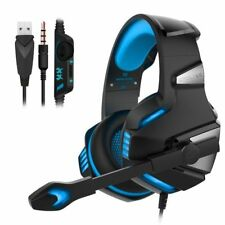 3.5mm Gaming Headset MIC LED Headphones G7500 for PC Mac Laptop PS4 Xbox One 360
