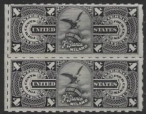 RS279r 4c Pair Fernet Blanca US Private Die Proprietary Revenue Stamps MOG