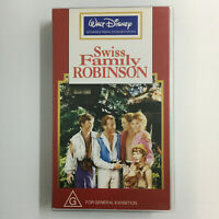 Swiss Family Robinson. VHS Video Tape Walt Disney Studio Film Collection Pirates
