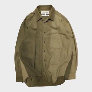 Comme Des Garcons Rare Uneven Dyed Vintage Over Shirt CDG Homme Plus
