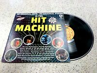 VINYL ALBUM RECORD,K-TEL HIT MACHINE,ELTON JOHN,FRANKIE VALLI,KISS,RICK SPRINGFI