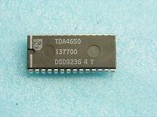ci TDA 4650 - ic TDA4650 - DIP28 - Multistandard colour decoder... (pla030)