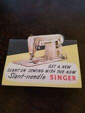 Vintage Singer Hand Sewing Needles Unused In Original Package Nice