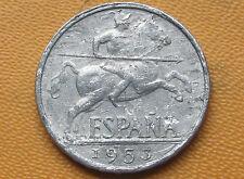 ESPAÑA: 10 CENTIMOS FRANCISCO FRANCO. AÑO 1953. BC+. ESCASA. ENVIO GRATIS¡¡¡.