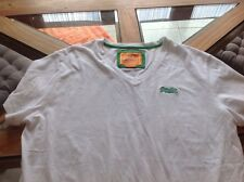 Superbe tee shirt Superdry blanc taille L