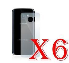 6 PZ PELLICOLA PROTEZIONE PARTE POSTERIORE Samsung Galaxy S7 Edge Retro PROTEGGI