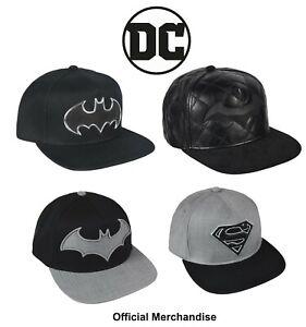 DC Batman Cap Superman Cap Official Licensed merchandise Snapback Unisex Caps